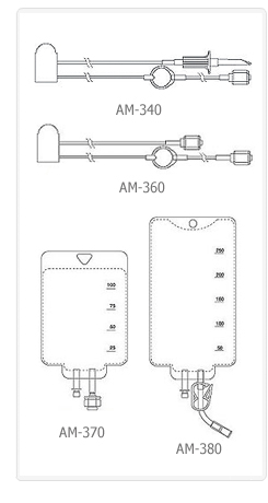 AutoMed Accessory Set AM-340/AM-36